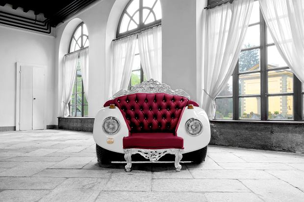 Fotel Beetle Glamour