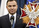 Andrzej Duda jest w tej chwili jedynym cz�onkiem Kapitu�y Orderu Or�a Bia�ego.