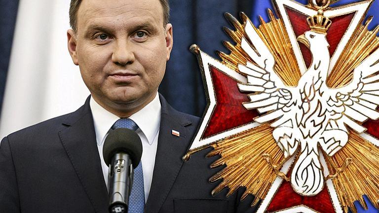 Andrzej Duda jest w tej chwili jedynym członkiem Kapituły Orderu Orła Białego.