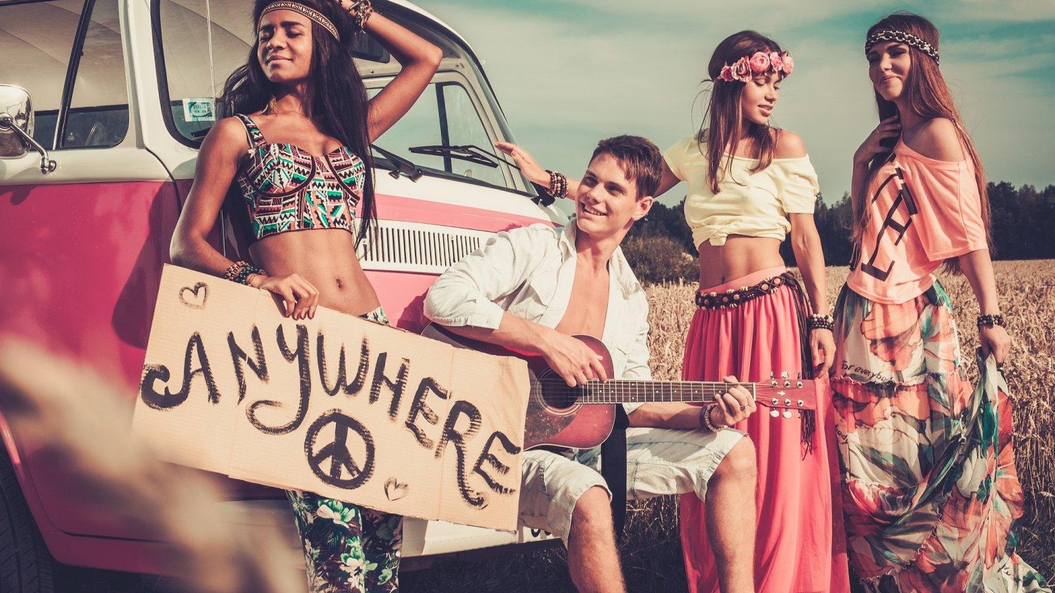 Styl Hippie Zainspiruj Się Modą Lat 70