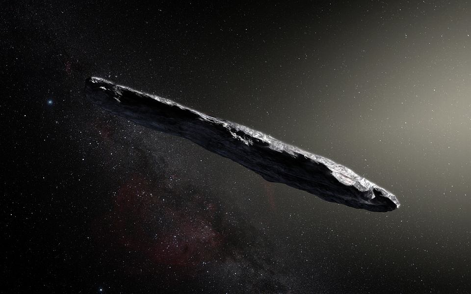 Tak właśnie może wyglądać planetoida 1I/2017 U1 (`Oumuamua), która przybyła spoza Układu Słonecznego