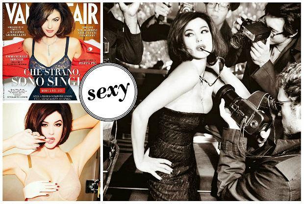"""Monica Bellucci w sesji dla w�oskiego """"Vanity Fair"""" - wci�� pora�aj�co seksowna [ZDJ�CIA]"""