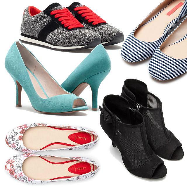 Bershka: buty z wiosennej kolekcji