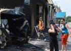 Ukraina rozpatruje stan wojenny i zamkni�cie granic z Rosj�. Walki w Kramatorsku i S�owia�sku