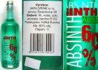 Uwaga na czeski Absinth, mo�e zawiera� alkohol metylowy