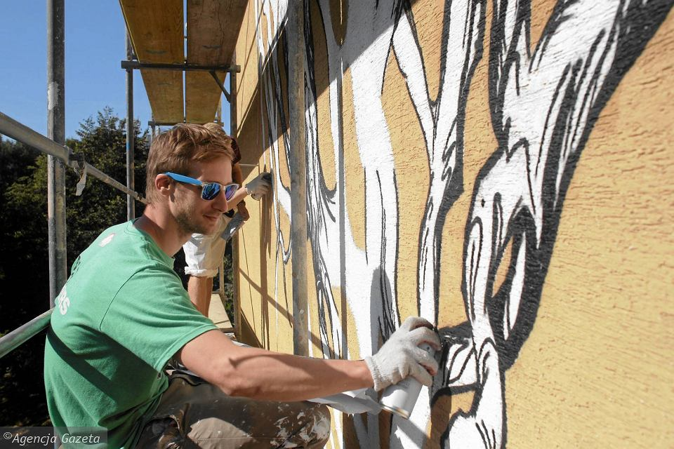 Bud et partycypacyjny w warszawie na ursynowie powstaje for Mural alternatywy 4