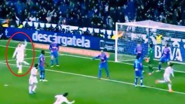 Reakcja Cristiano ronaldo po golu Garetha Bale'a