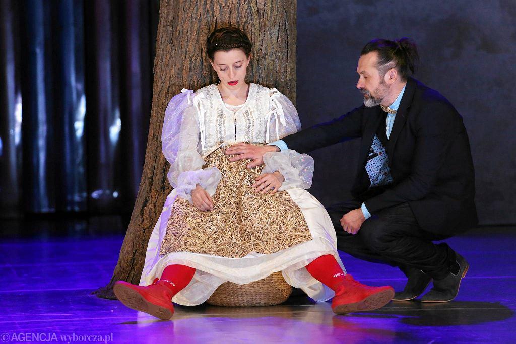 Stary Teatr: próba spektaklu 'Wesele' Stanisława Wyspiańskiego / MATEUSZ SKWARCZEK
