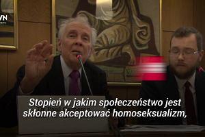 Znany homofob oskarżany o manipulacje, promowany przez polski Episkopat
