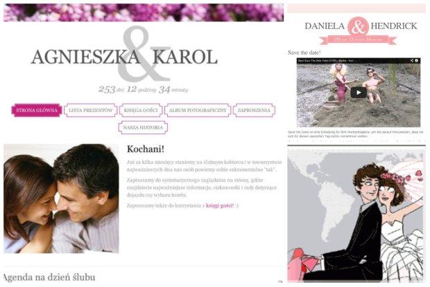 Internetowe strony przed�lubne - nowy trend w�r�d par m�odych