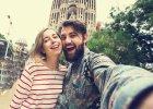 Selfie przy Segradzie Familii, Barcelona/ Fot. Shutterstock