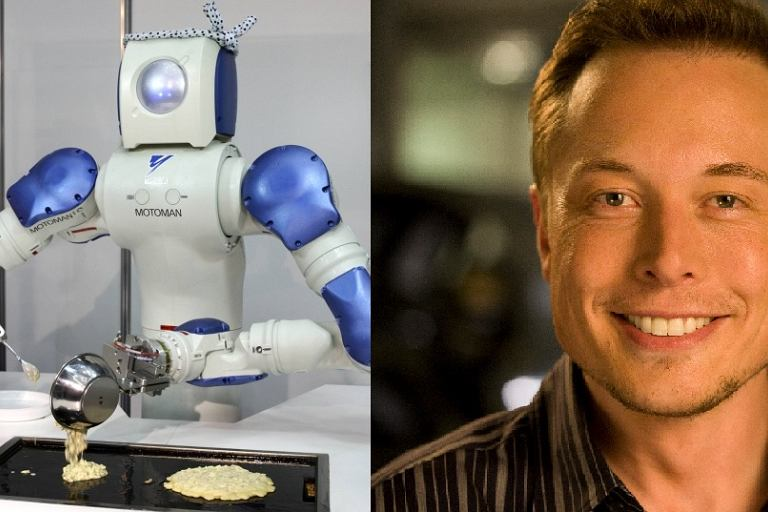 Elon Musk: Roboty i sztuczna inteligencja powinny pracować na ludzi