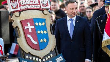 Prezydent RP Andrzej Duda z wizytą w Kolbuszowej