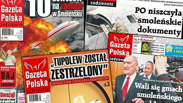"""""""Gazeta Polska"""" na tropie """"kłamstwa smoleńskiego"""""""