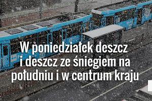 W poniedziałek zacznie padać śnieg - nie tylko w górach! [PROGNOZA POGODY]