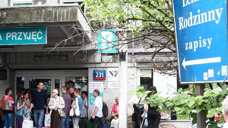 Alarm bombowy w szpitalu im. Orłowskiego na Czerniakowskiej