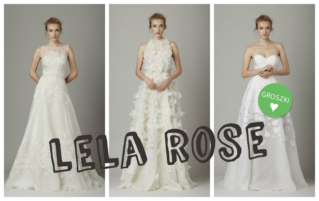 5d1e250869 Subtelne i dziewczęce suknie ślubne Lela Rose. Zobacz lookbook z kolekcję  na sezon jesień-