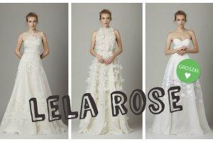 Subtelne i dziewcz�ce suknie �lubne Lela Rose. Zobacz lookbook z kolekcj� na sezon jesie�-zima