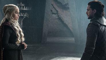 Daenerys Targaryen (Emilia Clarke) i Jon Snow (Kit Harington)