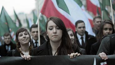 Marsz Młodzieży Wszechpolskiej, Warszawa, 13 kwietnia 2013