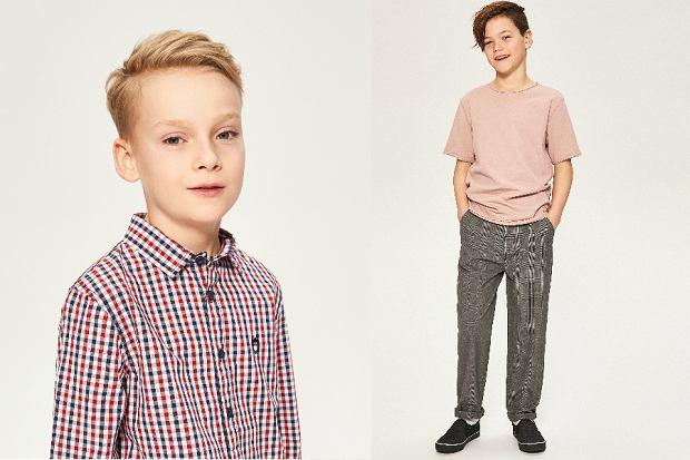 modne ubrania dla chłopców