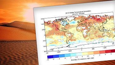 Rok 2015 będzie rekordowym pod względem temperatury na świecie
