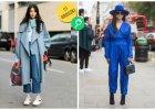 Niebieskie stylizacje - baby blue czy kobalt? Niech zadecyduje ulica!