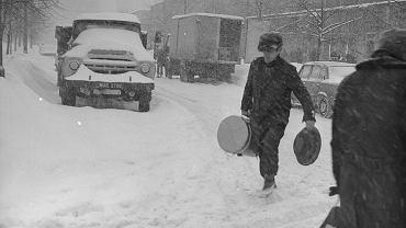 Zima stulecia w Warszawie