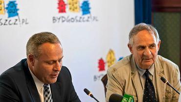 Konferencja prasowa w sprawie sytuacji w Polonii Bydgoszcz