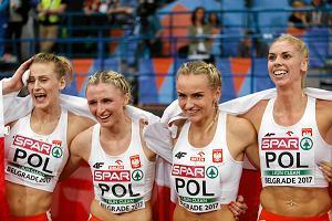 DME w Lille. Zwycięstwo Polek w sztafecie 4x400 m. Anna Jagaciak-Michalska znów piąta