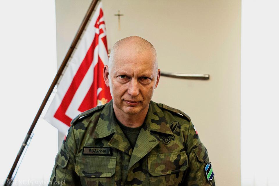 Dowodca Generalny Rodzajow Sil Zbrojnych , general Miroslaw Rozanski