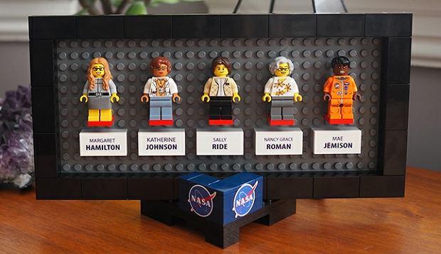 Kobiety NASA jako ludziki Lego