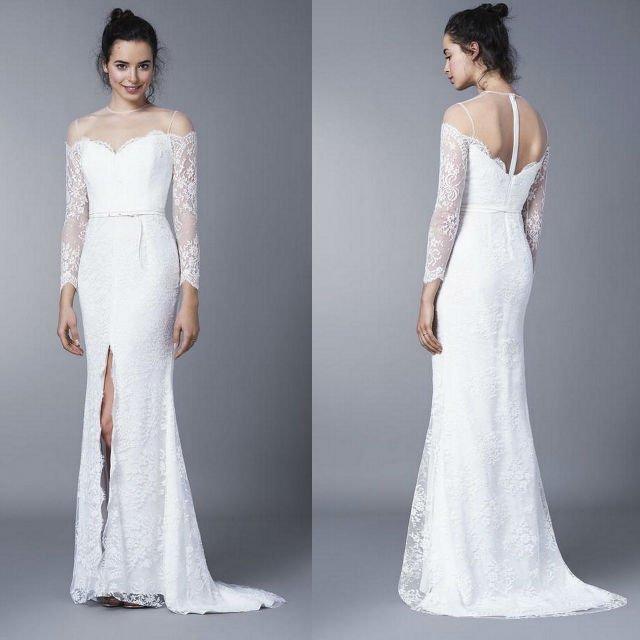 37be702ab4 Koronkowe suknie ślubne od Agaty Wojtkiewicz