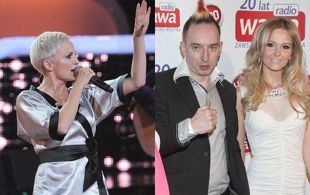 Angelina i Adam Konkol, Ania Wyszkoni.