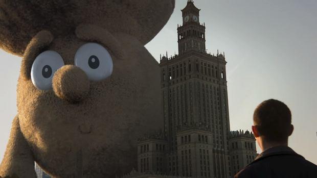 Pieczarka Piotrek atakuje Warszawę