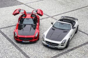 Salon Los Angeles 2013 | Mercedes SLS AMG GT Final Edition | Wielki koniec