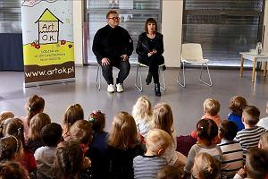 Izabela Trojanowska z wizytą u przedszkolaków w Częstochowie