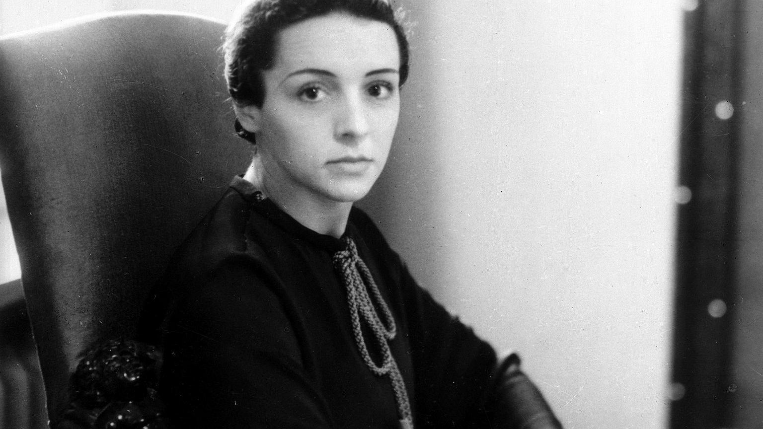 Ewa Curie w latach 30.