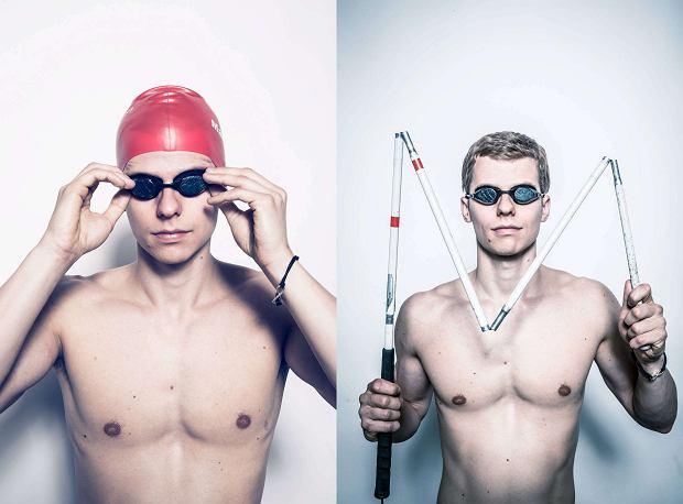 Rio 2016. Paraolimpijczyk Wojciech Makowski drugi w p�ywaniu na 100 m st. grzbietowym