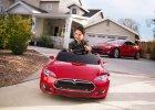 Tesla Model S dla dzieciaków