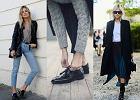 W lakierkach na co dzień - eleganckie obuwie w casualowych stylizacjach