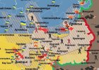 Post�py ukrai�skiego wojska w ci�gu ostatnich 7 dni [MAPY]