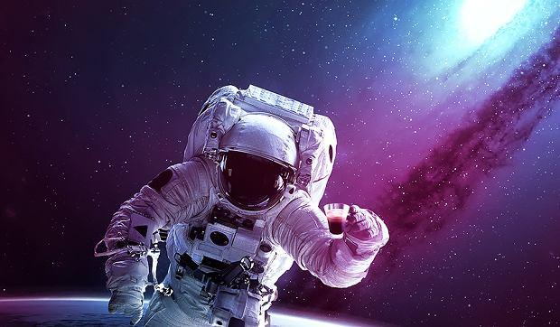 Ale kosmos! Kawa wśród gwiazd