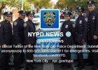 Nowojorska policja prosi: Wrzucajcie zdj�cia z nami. Internautom nie trzeba by�o dwa razy powtarza�