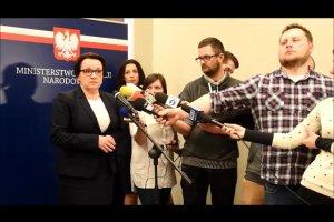 Minister edukacji Anna Zalewska o sześciolatkach