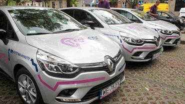 Samochody firmy TrafiCar, które będzie można pożyczać w systemie car sharing