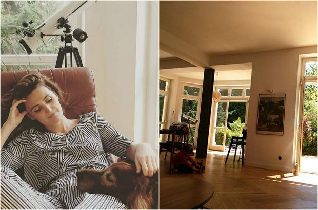 Reni Jusis i Tomek Makowiecki mieszkają w pięknym, dużym domu z ogrodem. Daleko od Warszawy! Zobaczcie, jakie sobie uwili gniazdko.