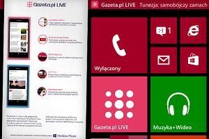 Aplikacja Gazeta.pl LIVE na Windows Phone gotowa! [SZCZEGӣY]