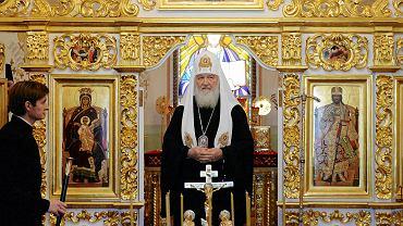 15.10.2018, Mińsk, patriarcha Moskwy Cyryl podczas Synodu Rosyjskiej Cerkwi Prawosławnej.