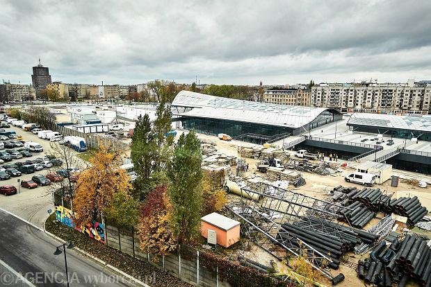 2.11.2016 Lodz . Dzialka  nalezaca do firma ghelamco  w NCL . Fot. Tomasz Stanczak / Agencja Gazeta